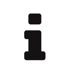 information icon info help faq inform symbol vector image