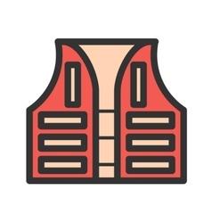 Life Vest vector image