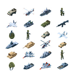 military transport army gadget armor uniform vector image