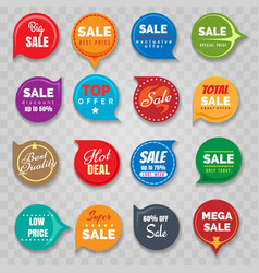 quality badges set for sale vector image
