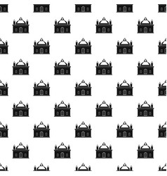 Royal castle pattern vector