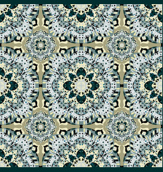 Seamless pattern vintage ethnic ornament vector