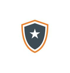 Star emblem template design vector