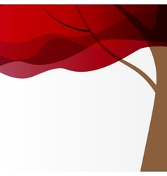 Beautuful Tree Background vector image