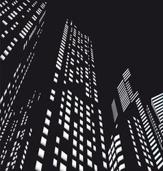 Skyscrapers vector