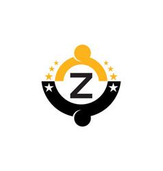 Success life coaching initial z vector