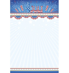 4th July background vector