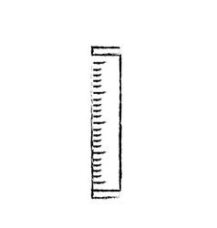 Figure ruler school tool object design vector