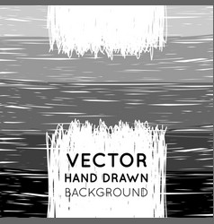 hand drawn striped background vector image