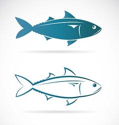 Image of an mackerel vector