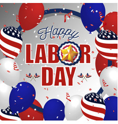 labor day background vector image