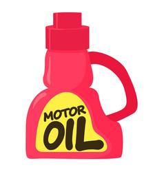 motor oil icon cartoon style vector image