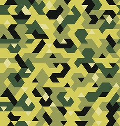 seamless pattern in camouflage style pixel vector image