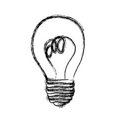 Energy bulb power icon vector