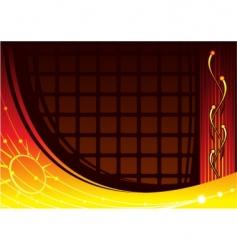 laboratory background vector image