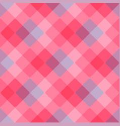 diagonal geometric pattern pink tablecloth vector image