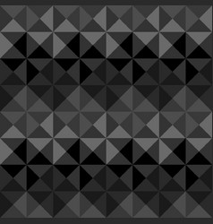 Abstract triangle seamless pattern vector