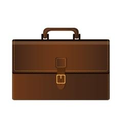 briefcase accessory icon vector image