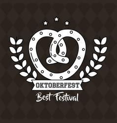 Oktoberfest germany celebration vector