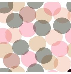 Seamless universal pattern Polka dots circles vector image