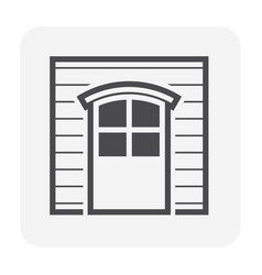 wall door icon vector image