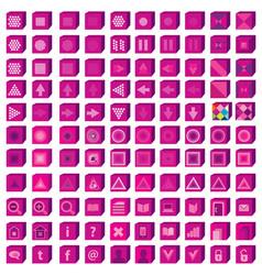 web icons set infographics media vector image