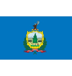 Vermont flag vector image vector image