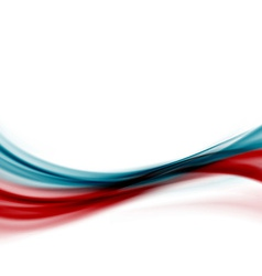 Blue red modern abstract line fusion transparent vector image