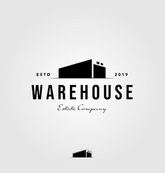 3d perspective warehouse home mortgage vector image