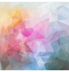 Abstract polygonal colourful background vector