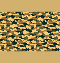 camouflage seamless pattern military clothing vector image