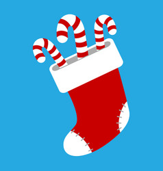 Christmas stocking vector