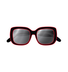 Fashionable sunglasses vector