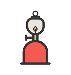 Gas Lamp vector
