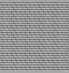 grey brick wall seamless texture vector image