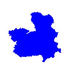 Map castilla-la mancha vector