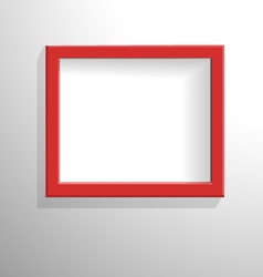 Red frame-Przekonwertowany vector image