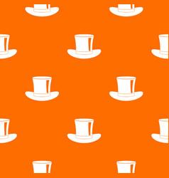 silk hat pattern seamless vector image