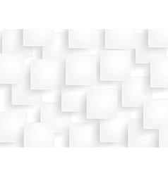 White rectangle abstract background vector image vector image