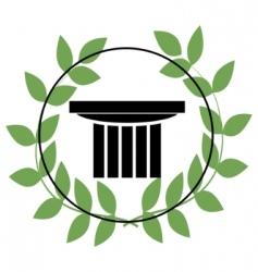 Greek symbols vector image vector image