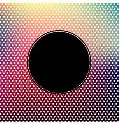 Vintage Background With Black Banner vector image vector image