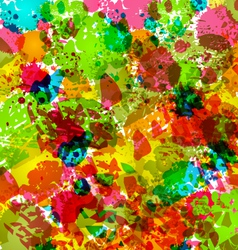 abstract grunge background colorful blurs - vector image