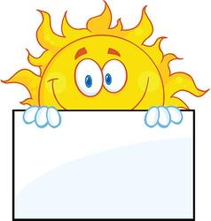 Cartoon weather symbol vector image