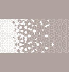 Geometric halftone texture vector