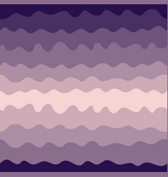 Gradient waves seamless pattern pink and purple vector