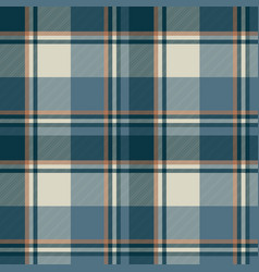 Gray blue check plaid seamless pattern vector