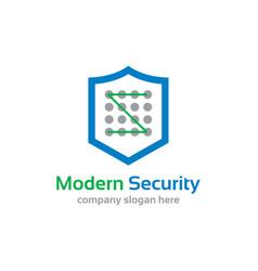 Modern security vector