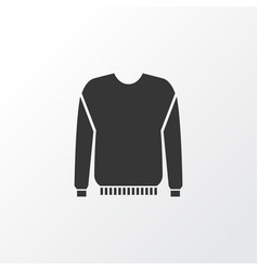 pullover icon symbol premium quality isolated vector image