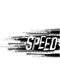 speed grunge background vector image