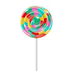 Swirl lollipop vector